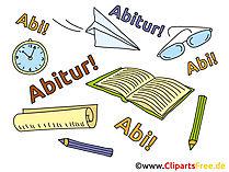 Schulabschluß Clipart