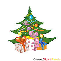 Advent boom clipart afbeelding