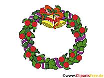 Obraz wianek Bożego Narodzenia
