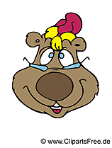 Baer Clipart, Afbeelding, Illustratie, Grafisch, Cartoon