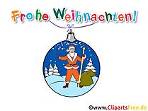 Bild frohe Weihnachten lustig