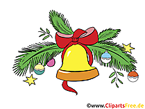 Bilder zum 2 Advent - Glocke zu Weihnachten