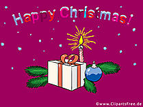 Christmas Gift eCard send for free