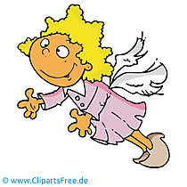 Angel clipart, foto, cartoon, grafisch, illustratie