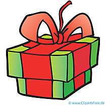 Geschenk Clipart, Bild, Cartoon, Grafik, Illustration