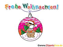 Glueckwuensche zu Weihnachten und Neues Jahr