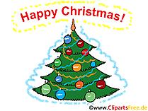 Szczęśliwa kartka świąteczna
