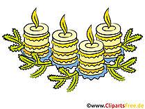 Kerzen Bilder zum Advent
