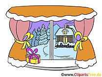 Kostenlose Bilder Advent - Winter im Fenster