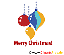 Merry Christmas illustratie gratis