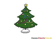 O fir-tree illustratie, foto, clip-art, illustraties