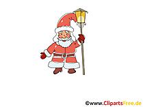 Santa Claus Clipart, Bild, Grafik