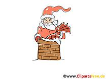 Santa clip art za darmo