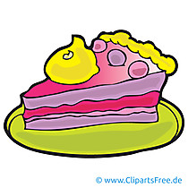 Torte Bild, Cartoon, Clipart, Grafik, Illustration