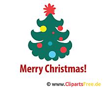 Weihnachtsbaum Bild, Clip Art, Image, Grafik, Illustration gratis