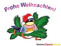 クリスマスの挨拶印刷用画像