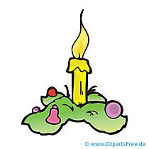 Boże Narodzenie wieniec obraz, kreskówka, clipart, grafika, ilustracja