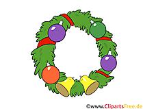 Wieniec, Boże Narodzenie darmowe cliparty