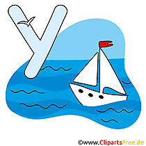 Y is for Yacht - Abc Englisch