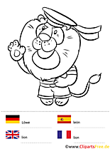Sprachmalbuch Tiere - Fremdsprachen lernen mit Kindern