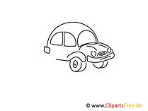 Taxi Auto einfache Weitermal Druckvorlage