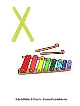 X - Arbeitsblätter für die Grundschule