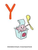 Y - Aufgaben zum kostenlosen Ausdrucken