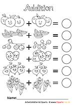Arbeitsblätter und Übungen für Mathematik an der Grundschule 1. Klasse