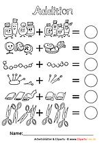 Mathe 1. Klasse Arbeitsblätter für die Grundschule