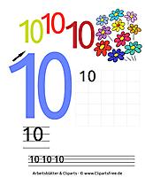 印刷用の数学タスク