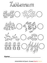 Zahlenraum bis 10 kostenlose Arbeitsblätter für die Grundschule