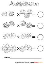 2-Klasse-Unterrichtmaterial-Multiplikation-Druckvorlage