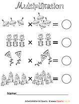 Zahlen Multiplikation
