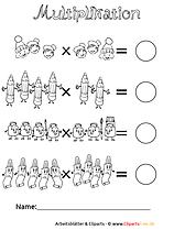 Multiplikation Unterrichtmaterial und Arbeitsblätter zum Download
