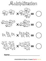 Schriftliche Multiplikation Aufgaben