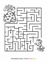 labyrinthe zum ausdrucken bilder cliparts illustrationen gratis. Black Bedroom Furniture Sets. Home Design Ideas