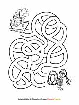 Labyrinth Rätsel zum Ausdrucken