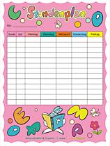 Nützliche Druckvorlagen für Schule und Kindergarten