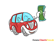 自動車ローンのクリップアート、画像、グラフ、銀行の図、ファイナンス