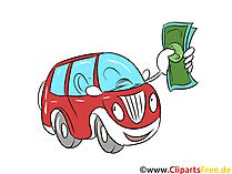 Araba kredisi clipart, resim, grafik, banka illüstrasyon, finans
