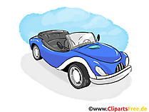 Cabrio Vehicle Clip Art free