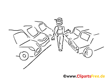 Car sales clip art, graphic, pic, cartoon, comic free