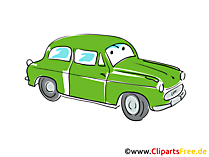 Clipart Autofahren