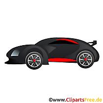 Clipart kostenlos Sportauto