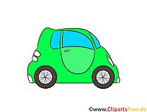 Elektroauto Clipart, Illustration, Bild kostenlos