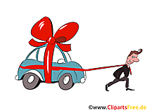 Finanzierung Auto Clipart, Bild, Grafik, Illustration