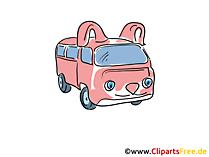 無料の車のクリップアート