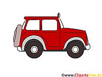 オフロード車クリップアート、イラスト、無料画像