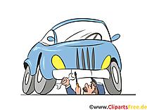 Auto Reparatie, Auto Reparatie Afbeelding, Illustratie, Clipart, Cartoon Gratis