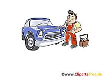 車サービスクリップアート、イメージ、グラフィック、漫画、イラスト無料
